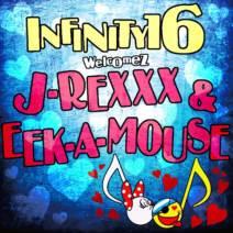 "INFINITY16 welcomez J-REXXX & EEK-A-MOUSE ""純粋な女"""